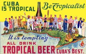 Tropical Beer Sign