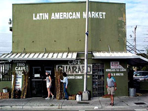 This funky old mercado is a landmark on Flagler Street.