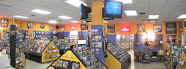 Lily's Records Interior