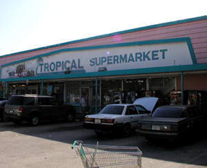 Tropical Supermarket Exterior